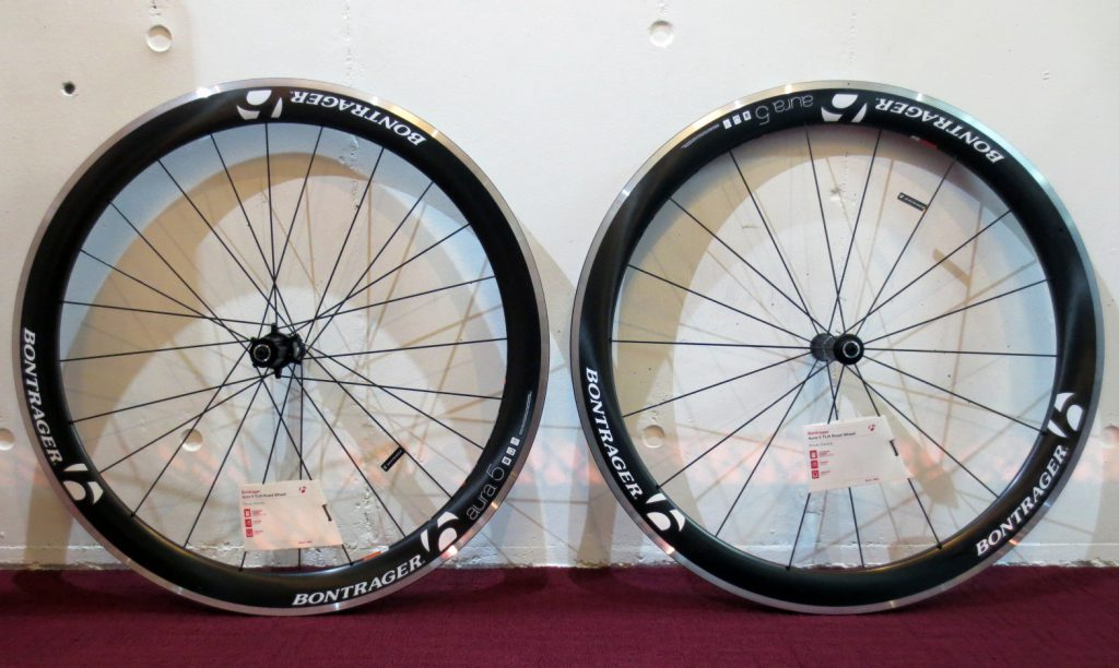 bontrager aura 5 tlr wheel set