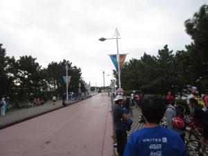 第5回横浜シーサイドトライアスロン大会