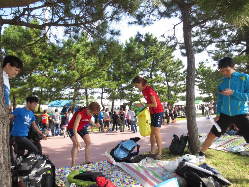 横浜シーサイドトライアスロン大会/八景島