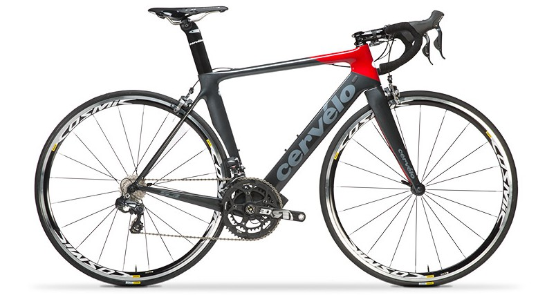 CERVELO S3 6870 CARBON/RED