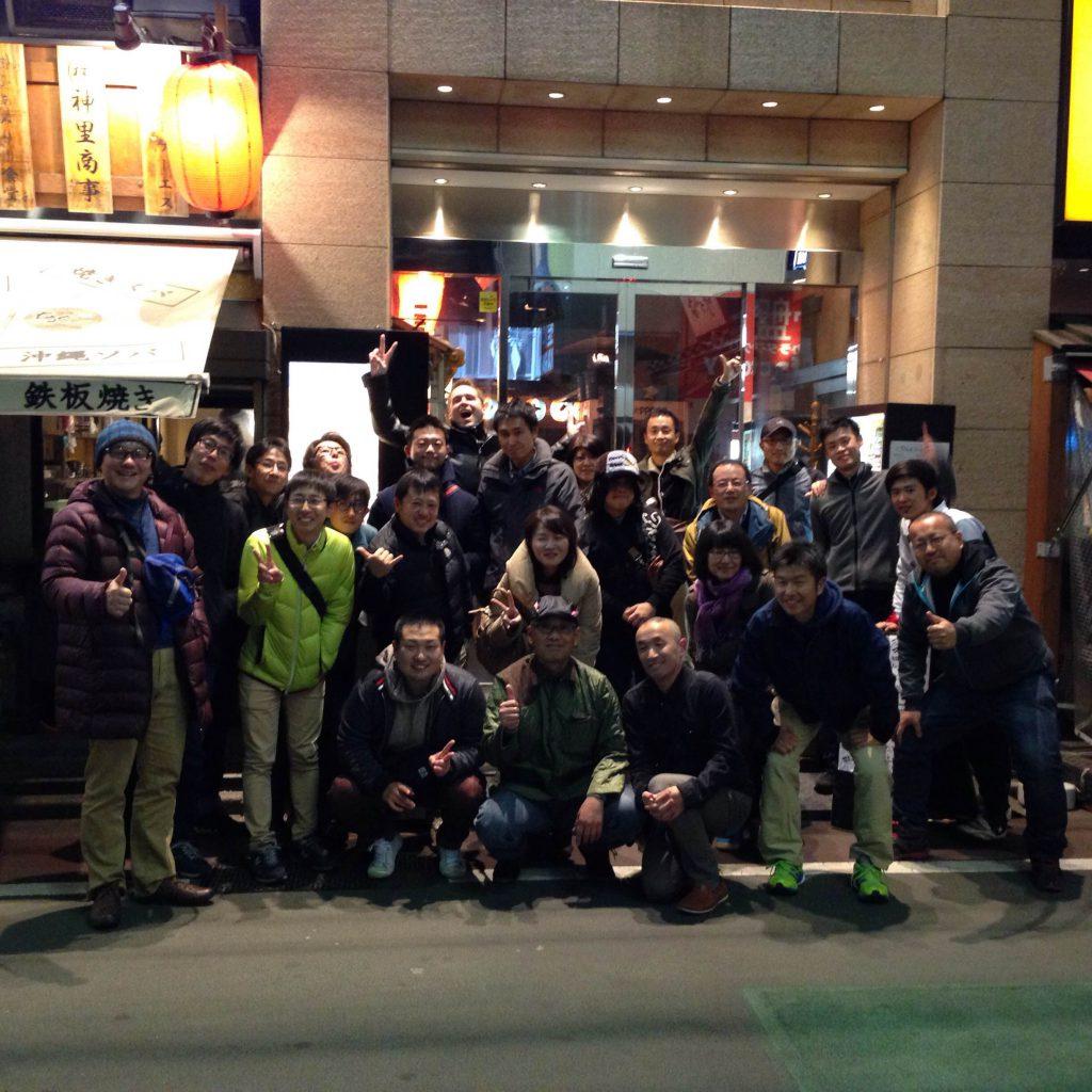 2015サイクルパインの忘年会1