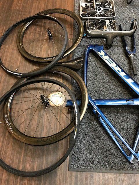 サイクルパインのハードメンテナンス