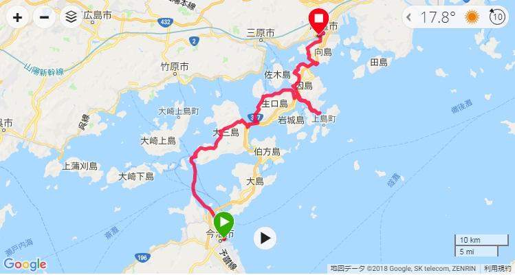 2018しまなみ海道_2日目