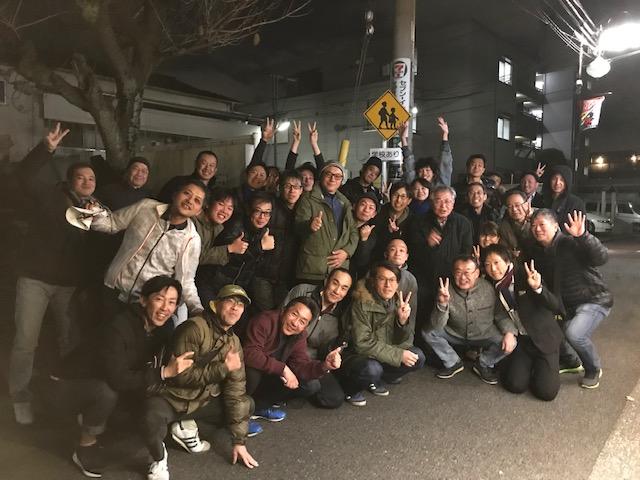 2018サイクルパインの忘年ライド&忘年会 (2)