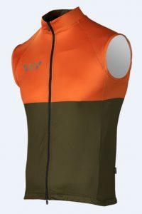 Men's Cycling Gilets_orange